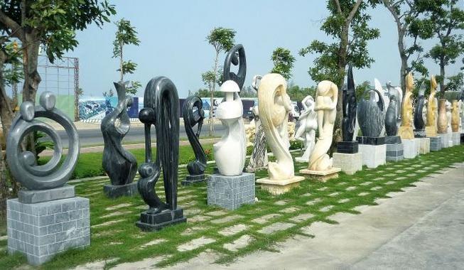 Làng đá mỹ nghệ Non Nước.