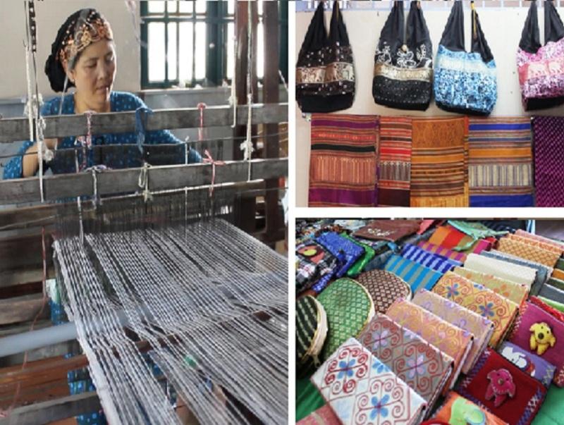 Làng dệt thổ cẩm Mỹ Nghiệp - Ninh Thuận