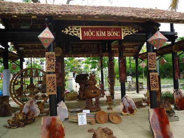 Làng Điêu khắc gỗ Kim Bồng
