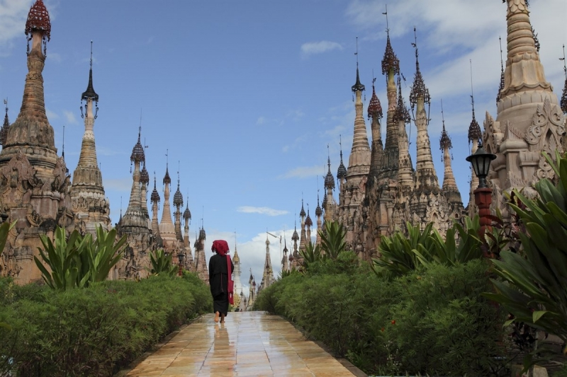 Kết quả hình ảnh cho Làng Inhwa (Mandalay)