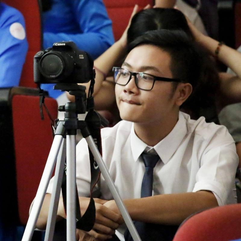 Bạn Nguyễn Hoàng Ân - sinh viên bộ môn Du lịch - ĐH KHXH & NV TPHCM