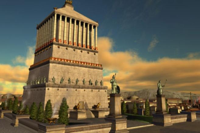 Lăng mộ được thiết kế bởi hai kiến trúc sư nổi tiếng người Hy Lạp là Satyrus và Pythius