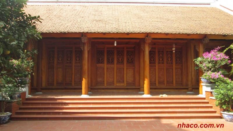 Nhiều nhà cổ, bảo tàng được nghệ nhân Chàng Sơn làm nên