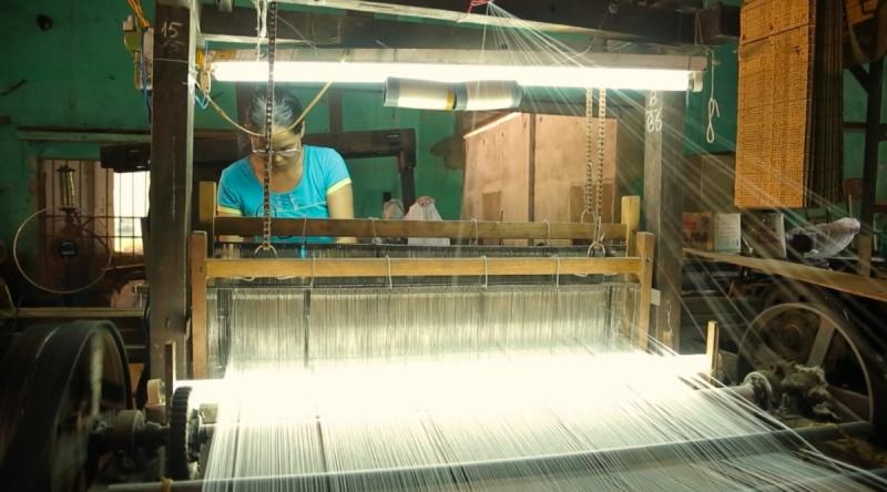 Làng nghề dệt vải tơ lụa Mã Châu