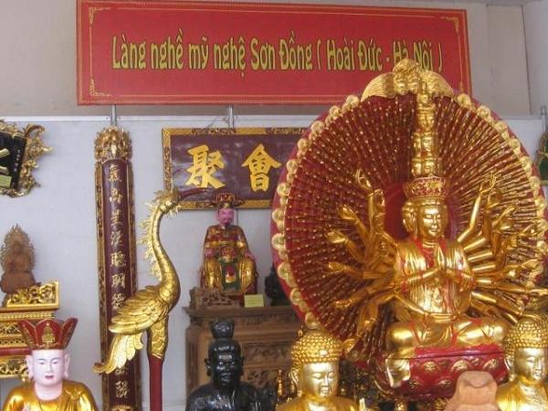 Nhắc đến tượng Phật là người ta nghĩ ngay đến Sơn Đồng.