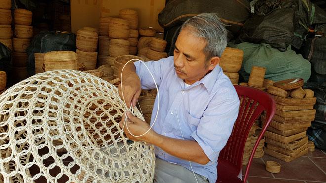 Làng nghề mây tre đan Triệu Xá