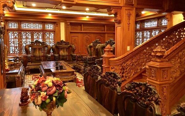 Đồ gỗ được làm thật khéo léo của nghệ nhân Chanh Thôn
