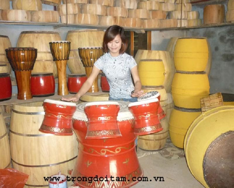 Làng nghề trống Đọi Tam - Hà Nam