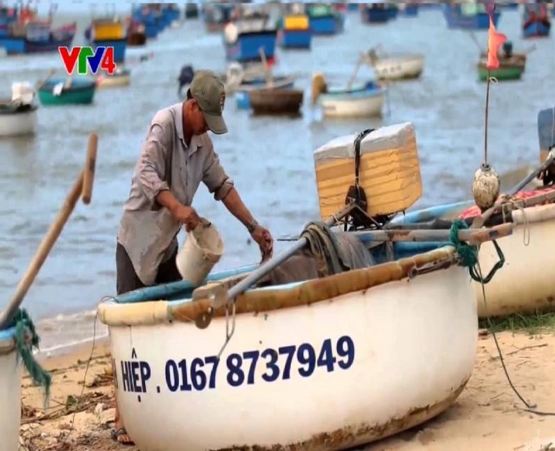 Làng nghề thuyền thúng - Phú Yên