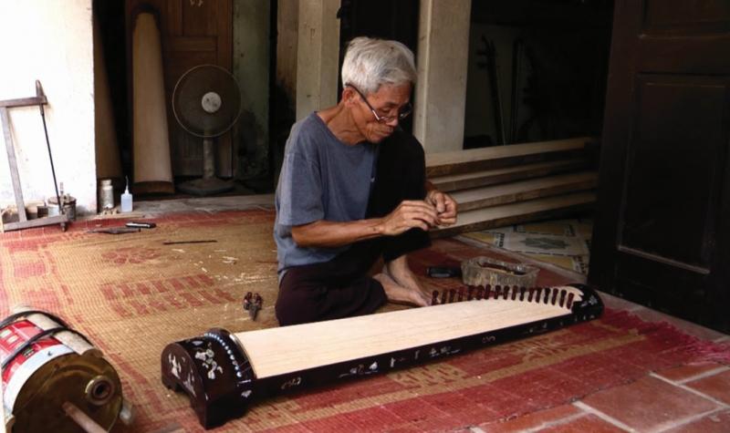 Làng nhạc cụ dân tộc Đào Xá