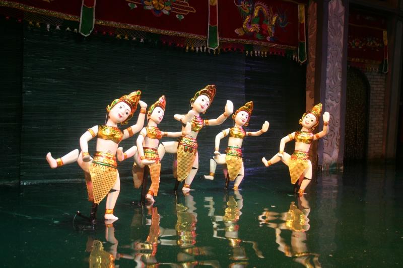 Làng rối nước Thanh Hải - Thanh Hà