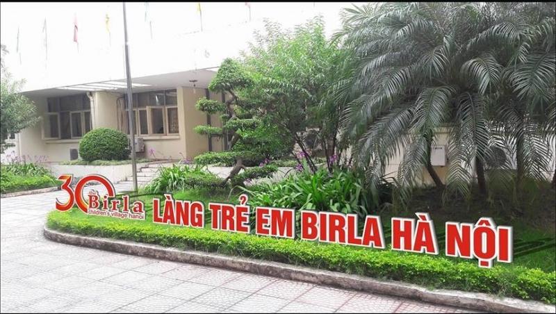 Làng trẻ em Birla tại Hà Nội là nơi chăm sóc và nuôi dưỡng trẻ mồ côi của thành phố Hà Nội