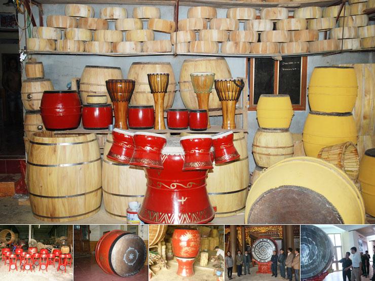 Làng trống Đọi Tam đã được công nhận là làng nghề truyền thống tiêu biểu của toàn quốc