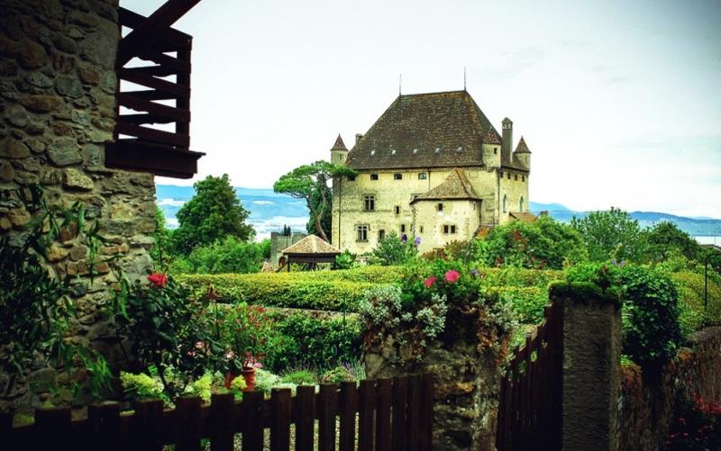 Làng Trung cổ Yvoire, Pháp