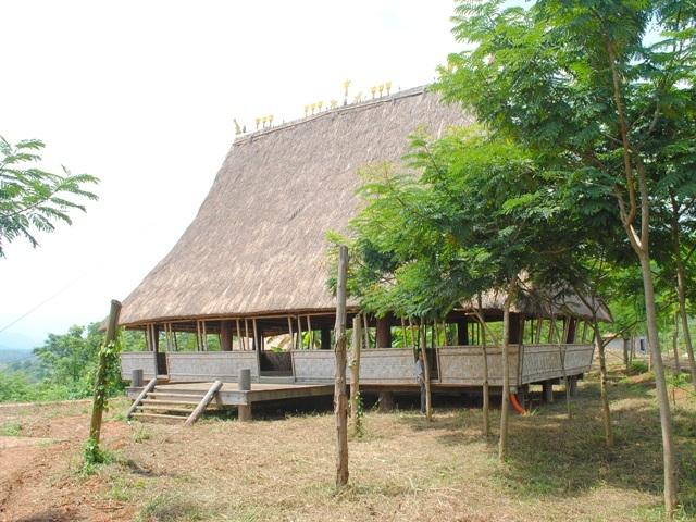 Một không gian văn hóa trong làng văn hóa các dân tộc Việt Nam