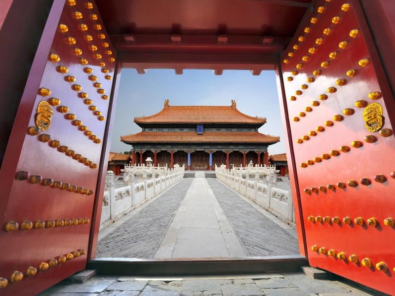 Tử Cấm Thành là nơi sâm nghiêm chỉ dành riêng cho hoàng đế và hoàng tộc sinh hoạt.