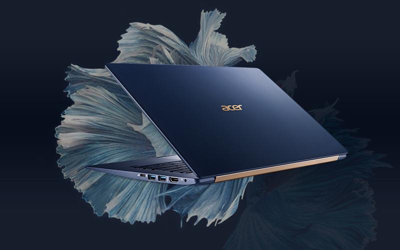 Laptop Acer Swift 5 SF514 53T 720R i7 8565U/8GB/256GB/Touch/Win10 (NX.H7HSV.002)