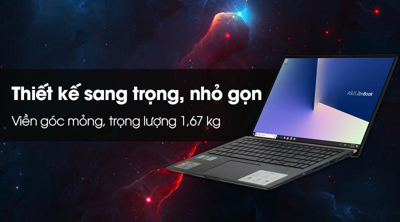 Laptop Asus ZenBook 15 UX533FD i5 8265U/8GB/256GB/GTX1050/Túi/Win10 (A9035T)