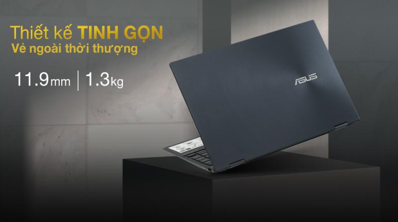 Laptop Asus ZenBook Flip UX363EA i7 1165G7/16GB/512GB/Touch/Pen/Cáp/Túi/Win10 (HP163T)