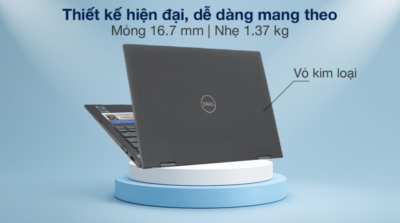 Laptop Dell Inspiron 7306A i7 1165G7/16GB/512GB/Touch/Pen/Win10 (P125G002N7306A)