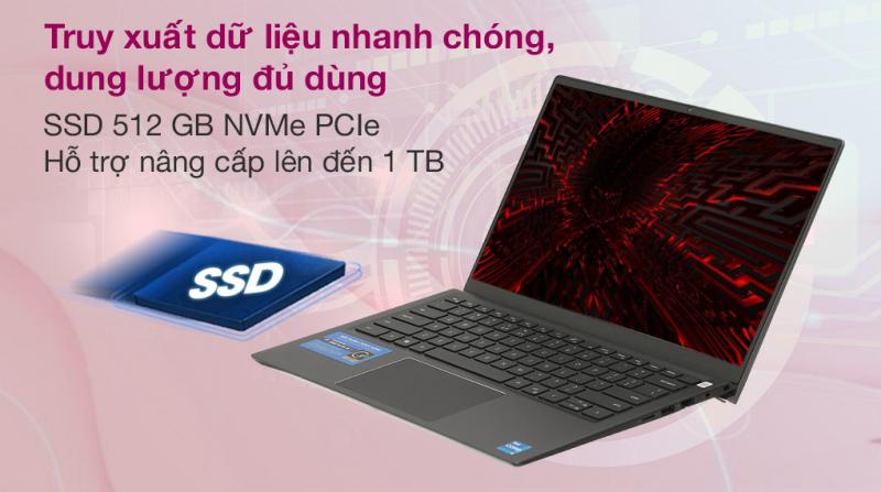 Laptop Dell Vostro 5410 i5 11300H/8GB/512GB/Office H&S2019/Win10 (V4I5014W)