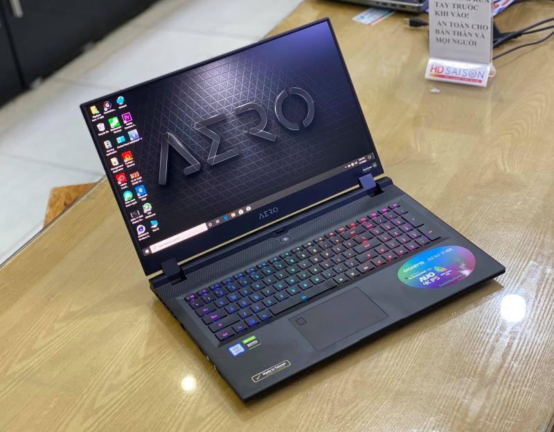 Laptop Gigabyte Aero 17  HDR YA