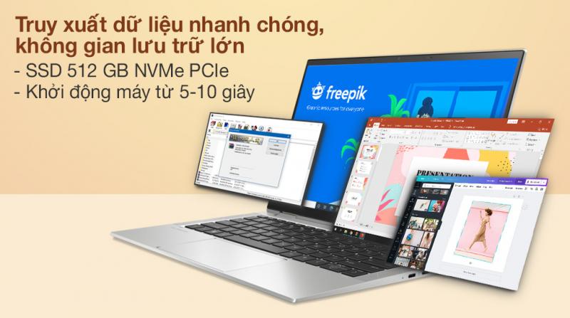Laptop HP EliteBook X360 1030 G8 i7 1165G7/16GB/512GB/Touch/Pen/Win10 Pro (3G1C4PA)