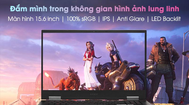 Laptop HP Omen 15 ek0078TX i7 10750H/16GB/1TB SSD/8GB RTX2070 Max-Q/300Hz/Office H&S2019/Win10 (26Y68PA)