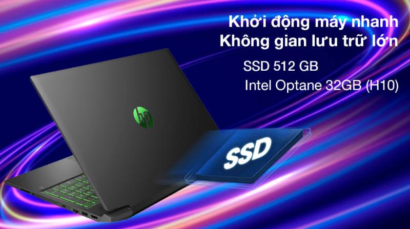 Laptop HP Pavilion Gaming 16 a0109TX i7 10870H/8GB/32GB+512GB/4GB GTX1650Ti/Win10 (31J26PA)