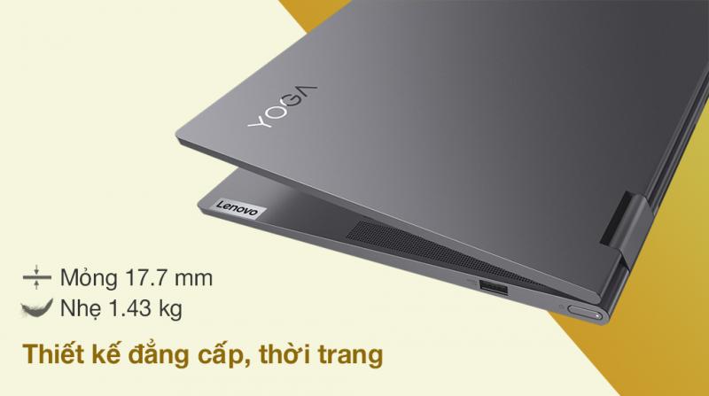 Laptop Lenovo Yoga 7 14ITL5 i7 1165G7/8GB/512GB/Touch/Pen/Win10 (82BH00CKVN)