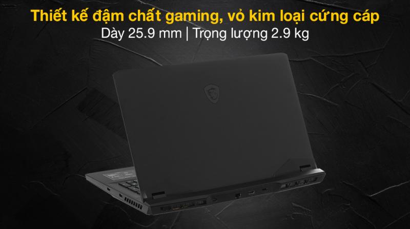 Laptop MSI Gaming GP76 11UG i7 11800H/16GB/1TB SSD/8GB RTX3070/240Hz/Balo/Chuột/Win10 (435VN)