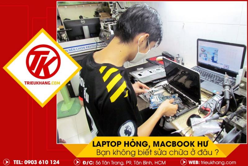 Laptop Triệu Khang
