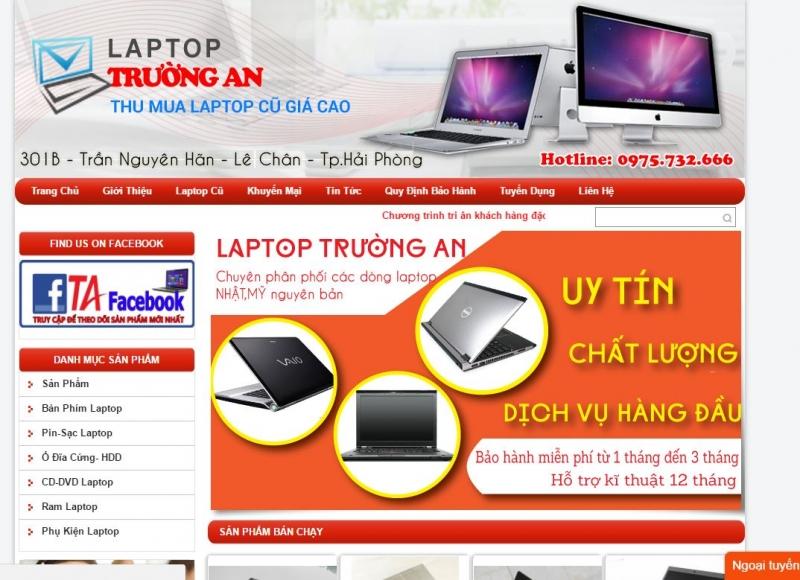 Laptop Trường An