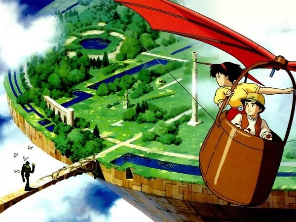 Laputa: lâu đài trên không (Laputa: Castle in the Sky )