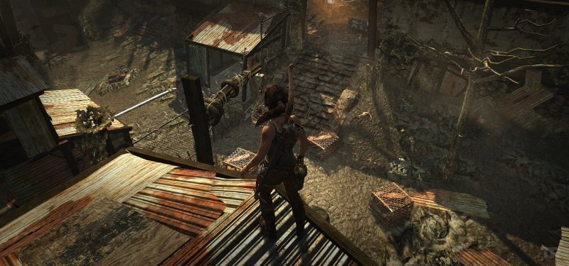 Giao diện trong Game Tomb Raider