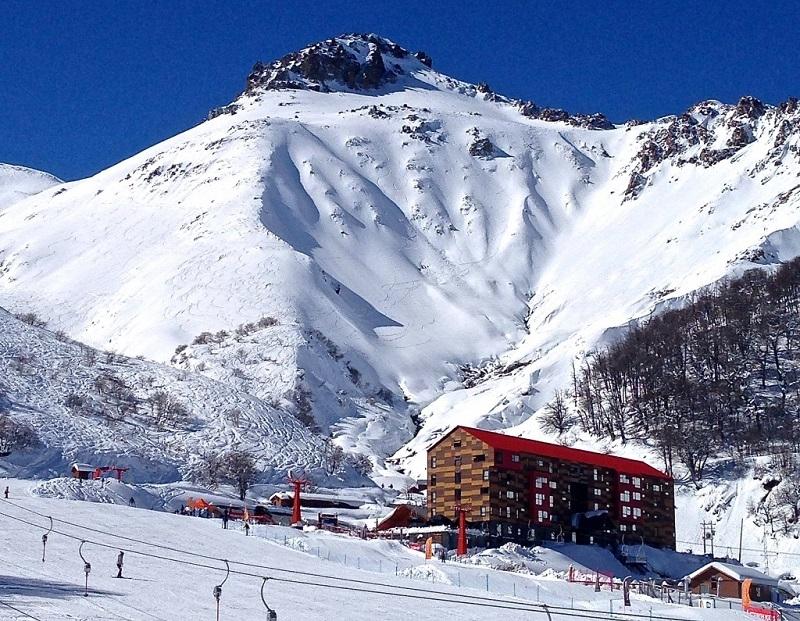 Núi tuyết ở Las Trancas, Chile