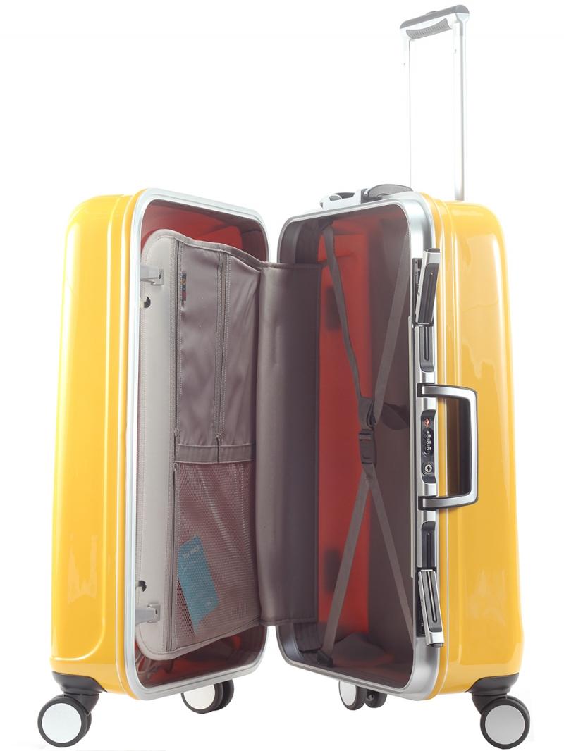 Hình dáng bên trong vali Lasole Luggage