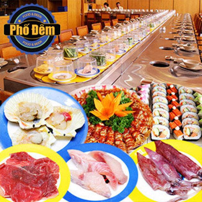 Nhà hàng Lẩu Băng Chuyền Phố Đêm
