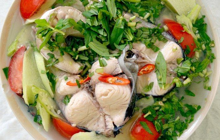 Lẩu cá bông lau Châu Đốc