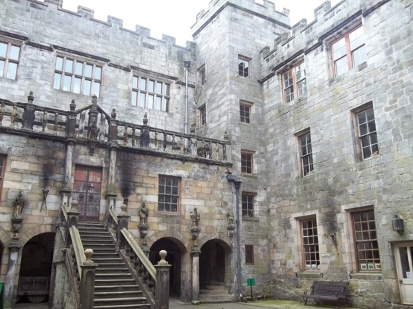 Lâu đài Chillingham, Northumberland, Anh