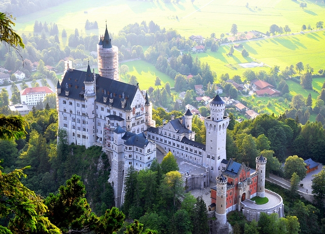 Lâu đài cổ tích Neuschwanstein