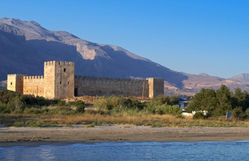 Lâu đài Frangokastello tại Hy Lạp