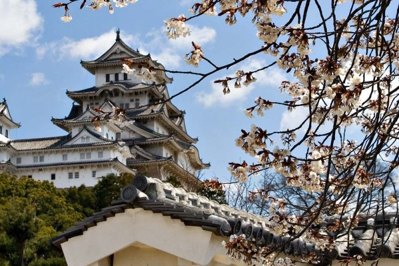 Vẻ thơ mộng của lâu đài Himeji