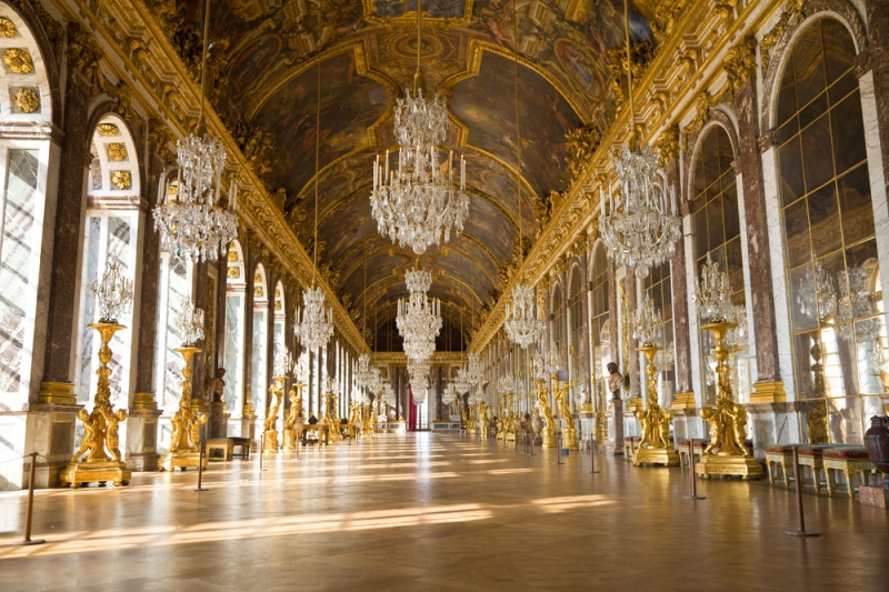 Phòng Gương nổi tiếng của lâu đài