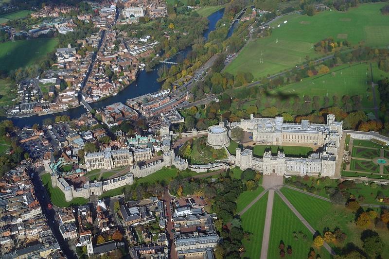 Toàn cảnh lâu đài Windsor
