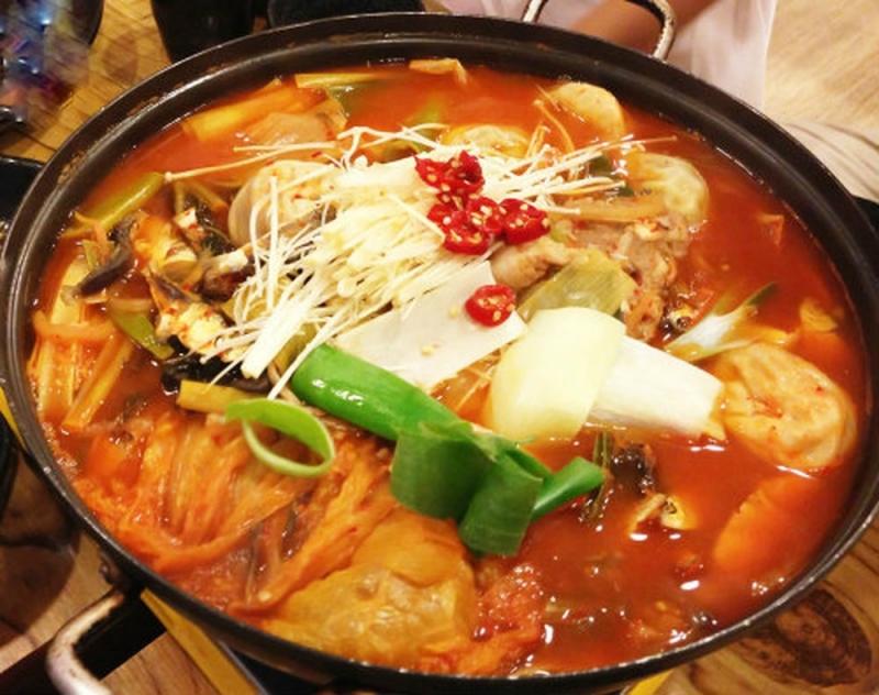 Lẩu đậu phụ Hàn Quốc
