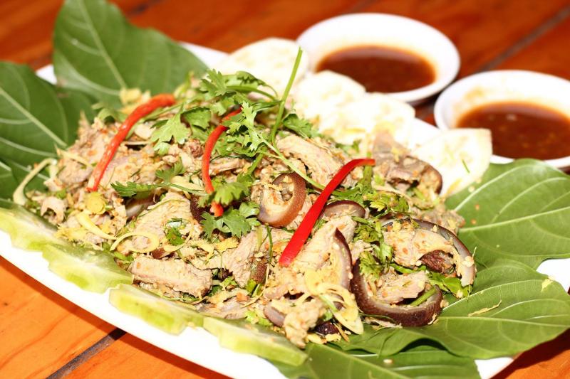 Món ăn tại Lẩu Dê 404 – Phạm Văn Chiêu