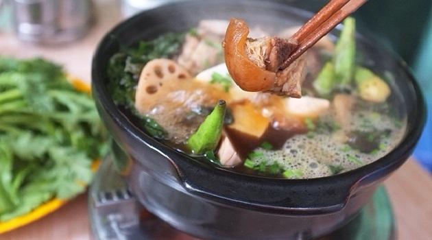 Món lẩu dê thơm ngon tại Trương Định