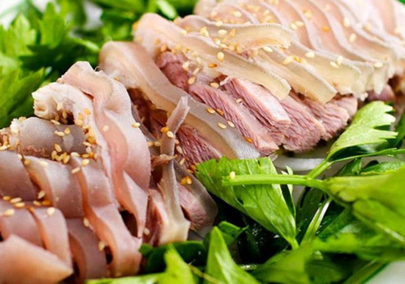 Thịt dê nhúng lẩu