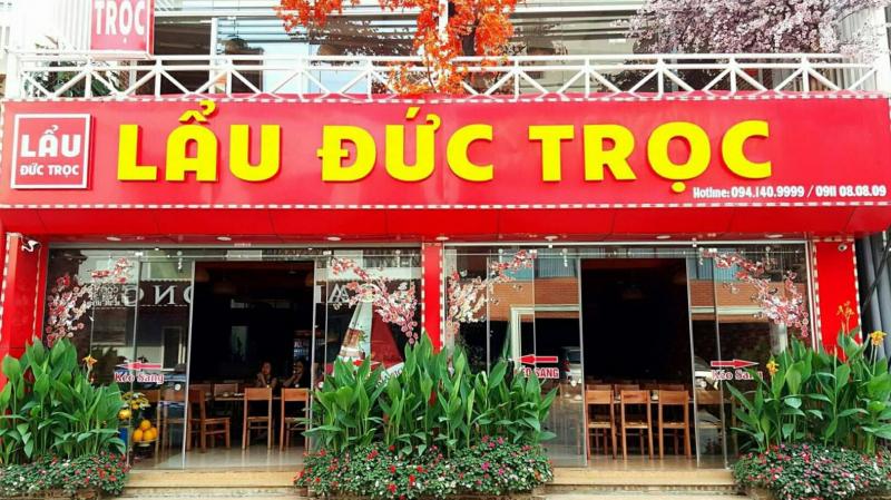 Lẩu Đức Trọc gồm 5 cơ sở tại Hà Nội thuận tiện đi lại, đây là chuỗi nhà hàng lẩu nổi tiếng ở Hà Nộ